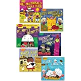 Becker's School Supplies Indestructibles Book Set - Nursery Rhymes, (Set of 6)