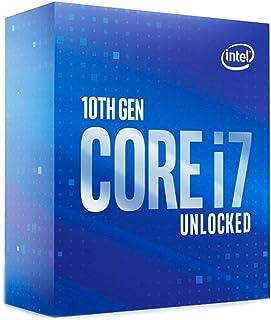 PROCESSADOR INTEL CORE I7-10700K 3.8GHZ (TURBO 5,10GHZ) CACHE 16MB 8 NUCLEOS 16 THREADS 10ª GER LGA 1200 BX8070110700K