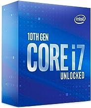 Intel Core i7-10700K (base 3.80 GHz, attacco LGA1200, 125 Watt) Box