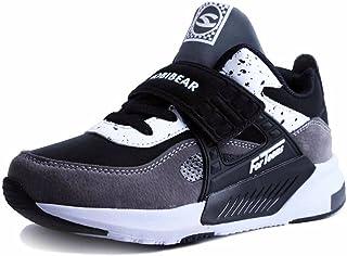 99b2111039f1b Sneakers Enfant Baskets Montantes Garcon Chaussure de Course Mode Garcon  Fille Sport Running Shoes Competition Entrainement
