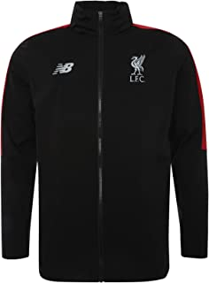 New Balance Liverpool FC Collection 2018/2019 Training Kit Black Junior Football Precision Rain Jacket Available Sizes SB,MB,LB,XLB LFC Official Store