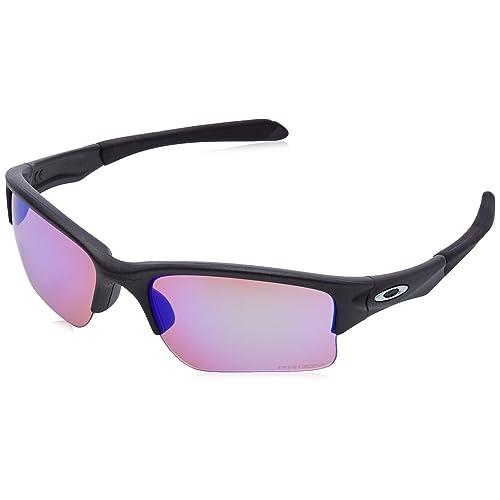 365e5b3239c Oakley Quarter Jacket Non-polarized Iridium Rectangular Sunglasses (Youth  Fit)