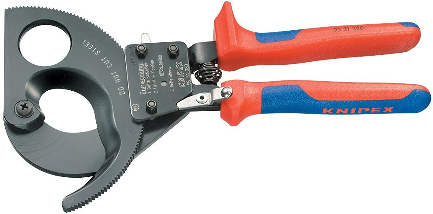 Draper 18557 Expert 280Mm Knipex Ratchet Action Cable Cutter B0002BUIXQ | Spaß
