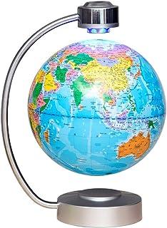 Glober, magnetisk flytande glob levitation roterande jord LED upplyst glob världskarta glob 20 cm för skrivbord kontor hem...