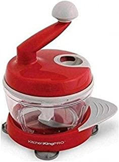 Kitchen King Pro 11-Piece Ultimate Food Preparation Station, Chop Mix Whip Slice