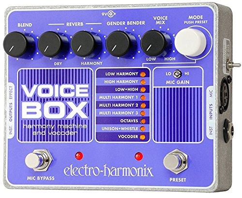 electro-harmonix エレクトロハーモニクス ボーカルエフェクター Voice Box 【国内正規品】