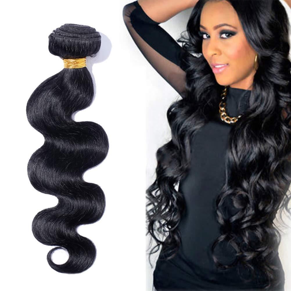100% 7A 40% OFF Cheap Sale High order Brazilian Remy Human Hair Black Wave Doub Body Off Weave