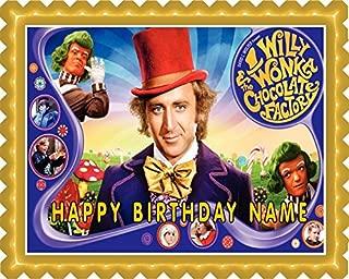 Willy Wonka - Edible Cake Topper - 10