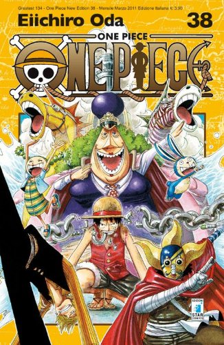 One piece. New edition: 38