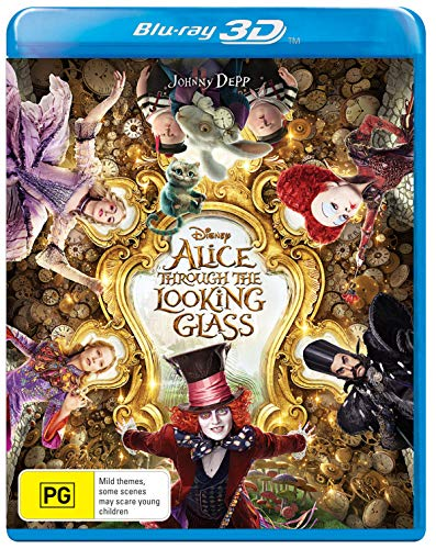 Alice Through The Looking Glass 3D Blu-ray | Region Free