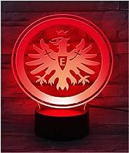 Eintracht Frankfurt LED Lampe, Leuchte Logo SGE - Plus Lesez