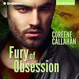 Fury of Obsession audiobook cover art