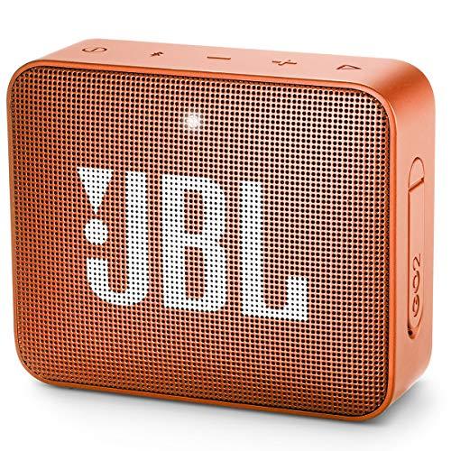 JBL GO 2 Portable Bluetooth Waterproof Speaker - Orange (Renewed)
