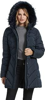 BINACL Women's Winter Warm Thicken Long Outwear Pockets Coat Parka Jacket(6Color,XS-XL)