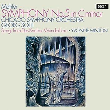 "Mahler: Symphony No. 5; 4 Songs from ""Des Knaben Wunderhorn"""