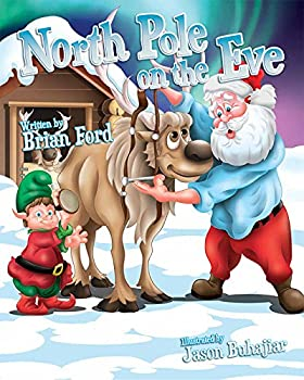 Hardcover North Pole on the Eve Book