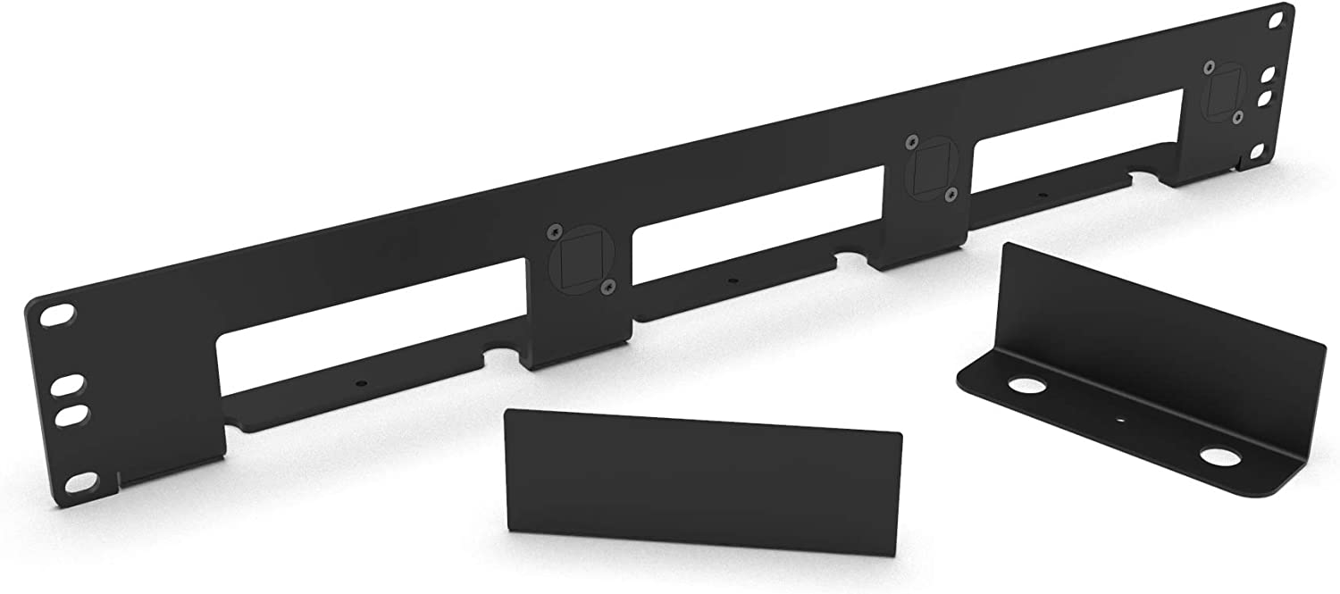 MyElectronics Intel NUC Rack Mount 19 inch kit 1.5U for 1-3 NUC's Including 2X Blank Cover