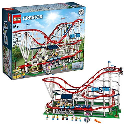 LEGO Creator Expert-Montaña rusa, juguete de construcción de atracción de feria con todo detalle (10261) , color/modelo surtido