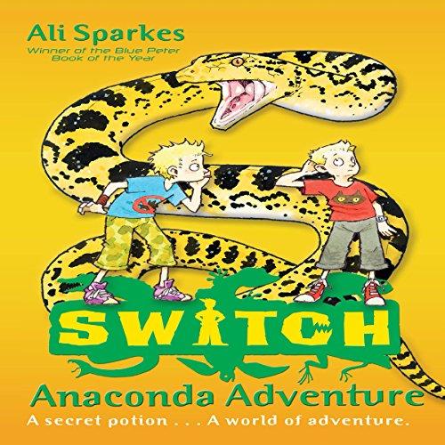 Anaconda Adventure audiobook cover art