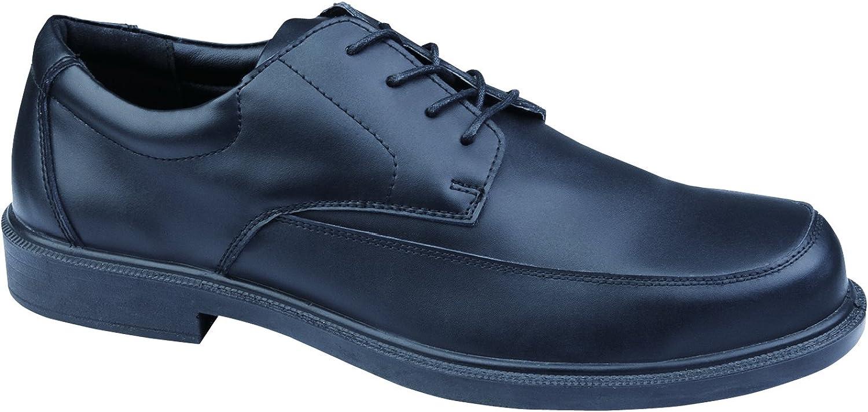 Deltaplus Men's Bristol S1 Low Safety shoes US Size 14 Black