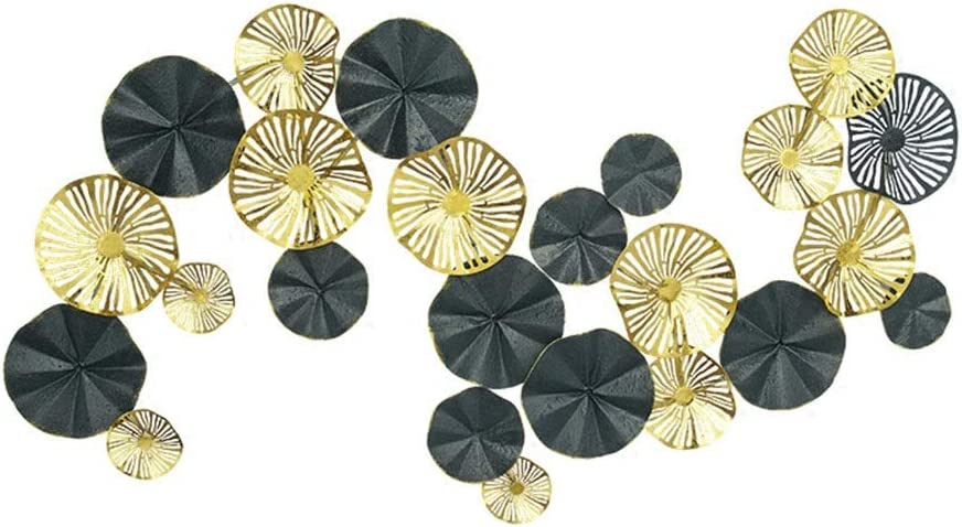QINQIGBJ Artwork Wall Metal Flower Decoration Iron G Stereo Topics on TV Factory outlet