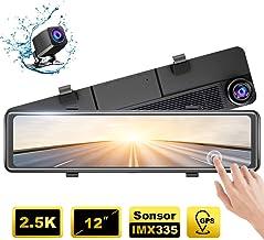 AKASO DL12 2.5K Mirror Dash Cam 12
