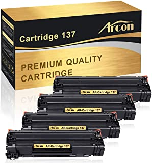 Arcon Compatible Toner Cartridge Replacement for Canon 137 Cartridge 137 Crg137 Canon Imageclass MF236n LBP151dw MF216n MF249dw MF229dw MF212w MF247dw MF227dw D570 MF232w Satera MF222dw MF244dw Toner