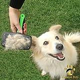 Golden Pets selbstreinigende Hundebürste & Katzenbürste   ALL-IN-ONE-Pflege für kurz-Langhaar geeignet   Einfache Reinigung durch EASY-CLEAN-Funktion   TOP Fellpflege für Ihren tierischen Freund - 5