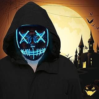 Halloween Mask Light Up Toys LED Light Up Mask