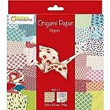 Avenue Mandarine-Un paquet de 60 Origami 20x20 cm 70g (30 Motifs x 2 feuilles) et UNE Planche de Stickers incluse, Nippon Consumibles, Color (Clairefontaine OR514C)