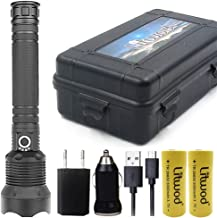 50000LM High Power LED Zaklamp Zaklamp Licht XHP70.2 18650 26650 Oplaadbare Batterij Zaklamp (Emitting Color : Option I)
