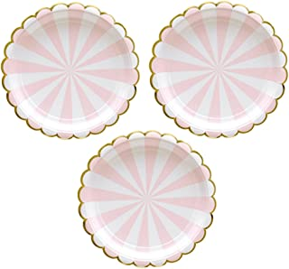Best pink and gray chevron paper plates Reviews