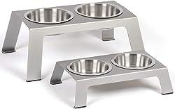 PetFusion Elevated Dog Bowls for Shih Tzu