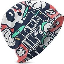 Guangzhouyuanyipifabu Skull Drummer Cartoon 3D Kids Beanie Caps Winter Hats for Girls Boys