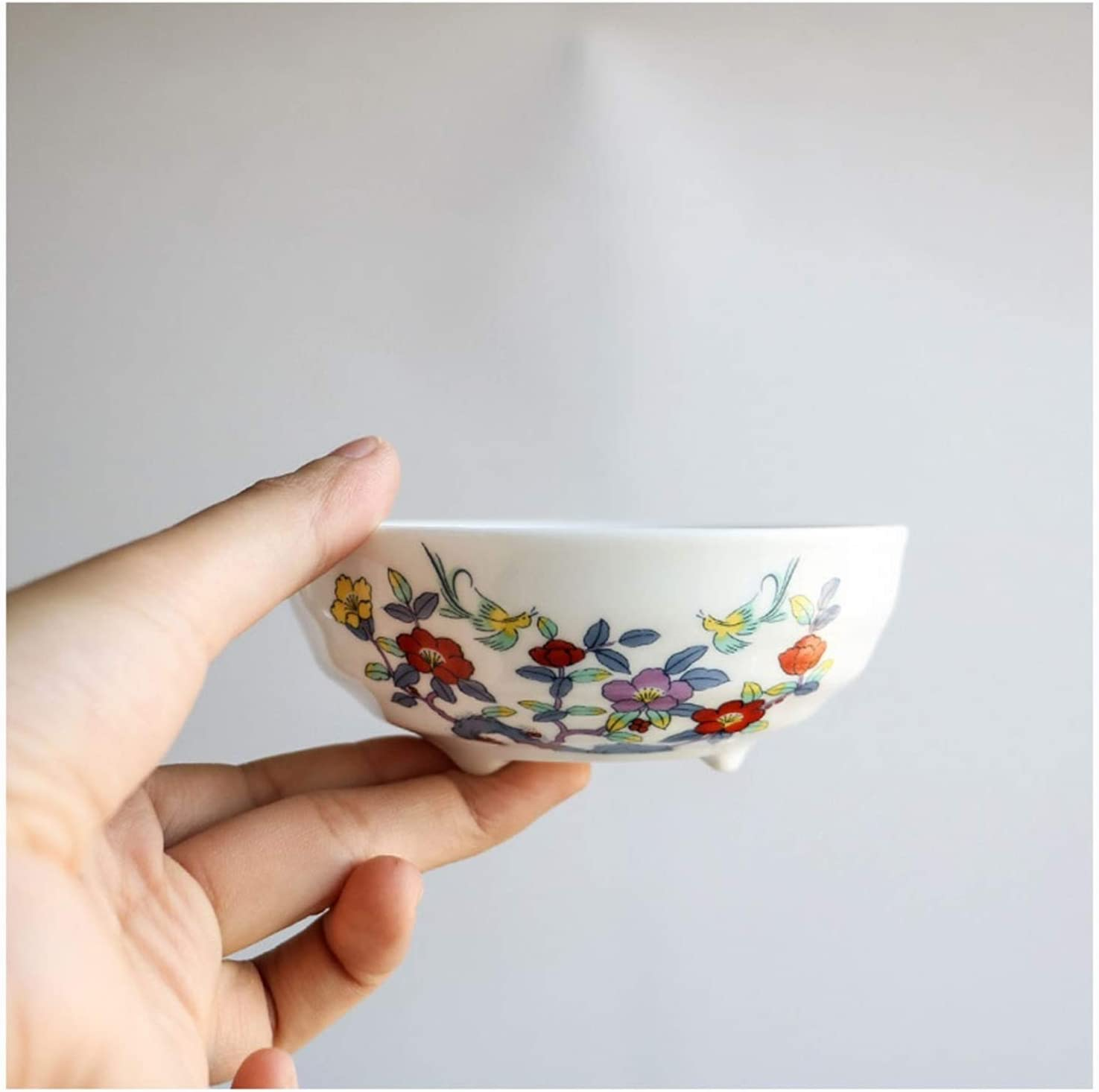 Nippon regular agency side NEW before selling dishes Ceramic Sauce No Dish Household Three-Legged