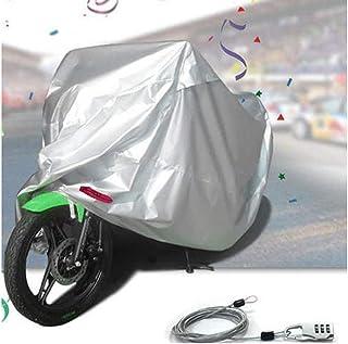 Kesoto Capa de chuva para motocicleta, proteção de scooter, resistente à poeira e à prova d'água 2GG