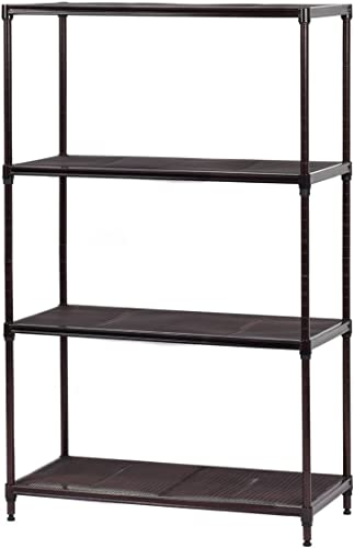 "popular Giantex lowest 29""x13""x48"" online 4 Layer Steel Storage Rack Shelf Mesh Organizer Home Kitchen (29""x13""x48"") sale"