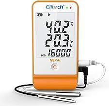 pile 2 x CR 2032, litio Testo 0572 1560 174T e protocollo per calibrare Mini registratore di dati a 1 canale incluso supporto a parete