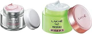 Lakmé Perfect Radiance Fairness Day Creme 50 g & Lakmé 9 to 5 Naturale Day Creme SPF 20, 50 g
