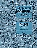 test pieces for orchestral auditions - timpani/percussion: sammlung wichtiger passagen aus der opern- und konzertliteratur. pauke/schlagzeug.