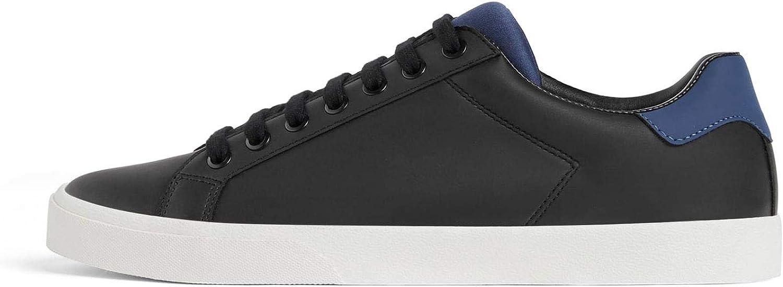 Zara Men's Black Contrast Sneakers 5239 302