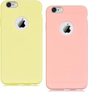 coque iphone 6 jaune pale