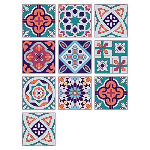 Pegatinas De Pared, Pegatinas De Azulejos Autoadhesivos ,Etiqueta Engomada Del Azulejo Decorativos Adhesivos Para Sala Cocina ,Para La Decoración Casera