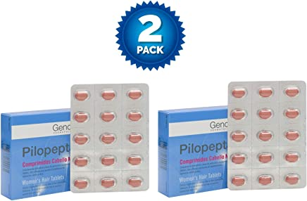 2 Pack Genové Pilopeptan Woman 30 x 2 (60 Tablets) - Hair Regrowth Treatment