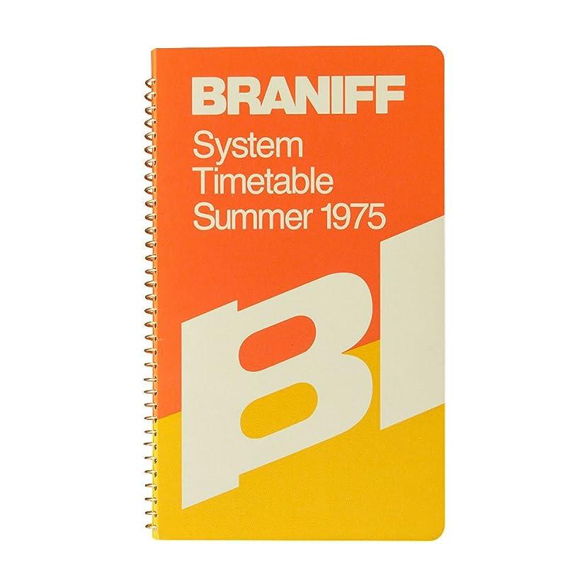ブラニフ スパイラルリングノート A5スリム ポケット 15151006