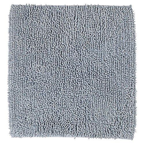 Sealskin badmat, antislip, absorberend, gemengd weefsel, 60 x 60 x 2,5 cm, katoen, grijs