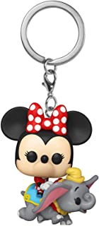 FUNKO POP! Keychain: Disney 1955 - Flying Dumbo Ride w/Minnie