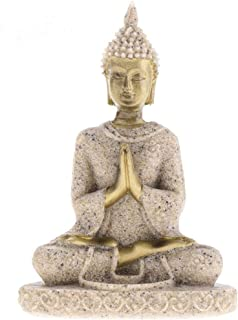 Dongyue The Hue Sandstone Buddha Statue Sculpture Hand Carved Figurine Suit for Statue Home Decoration (#3)