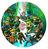Legend of Zelda Edible Image Photo Cake Frosting Icing Topper Sheet Personalized Custom Customized Birthday Party - 8' ROUND - 75751