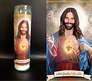 Mose Mary and Me Jonathan Van Ness Devotional Prayer Saint Candle